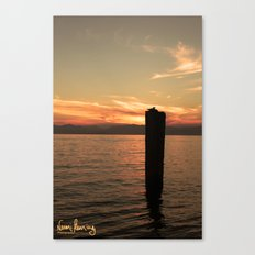 Italian Waters  Canvas Print