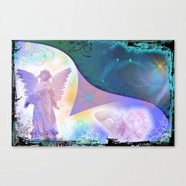 Glimpse through the veils Canvas Print