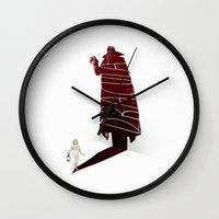 movie poster Wall Clocks featuring Dracula Movie Poster by Jason Ratliff