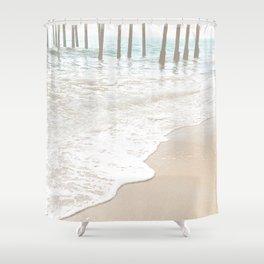Huntington Beach Wave // California Ocean Sandy Beaches Surf Country Pacific West Coast Photography Shower Curtain
