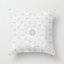 Mandala Pattern Throw Pillow