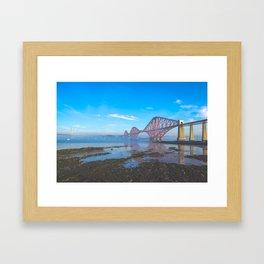 The Fourth Bridge - Scotland Framed Art Print