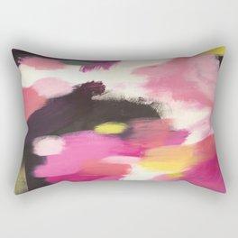 Acrylic Abstract Rectangular Pillow
