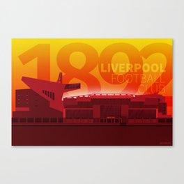 Anfield - LFC 1892 Canvas Print