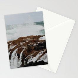sea spray Stationery Cards