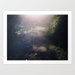 There's a light #01 Art Print