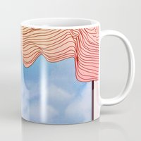 window Mugs featuring Window by Brontosaurus
