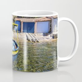Seacoast of Cap Benat near Le Lavandou and Bormes-les-Mimosas in French Riviera Coffee Mug