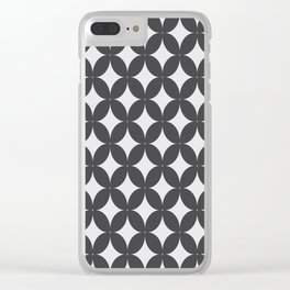 Pattern Tile 1.2 Clear iPhone Case