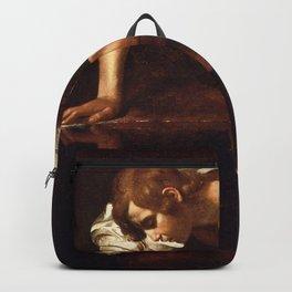 "Michelangelo Merisi da Caravaggio ""Narcissus"" Backpack"