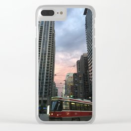 Day and Night Clear iPhone Case