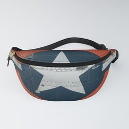 Aircraft Roundel Fanny Pack