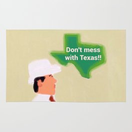 Don't Mess With Texas! Rug