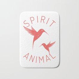 Bird Native Birds Songbird Hummingbird Gift Bath Mat
