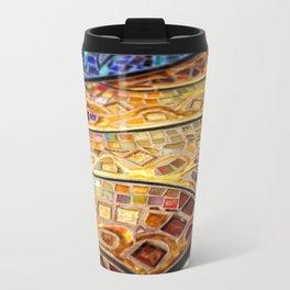 Venice Tiles Metal Travel Mug