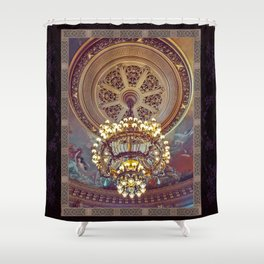 Victorian Painted Ceiling Shower Curtain