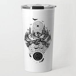 Sun vs Moon Travel Mug