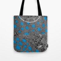 sagan Tote Bags featuring - cosmos_04 - by Magdalla Del Fresto
