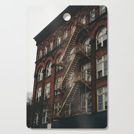 Fire Escape With Me Cutting Board