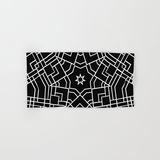 Map Star Hand & Bath Towel