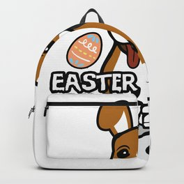 Beagle Easter Funny for Boys Girls Love Dog Puppy Backpack