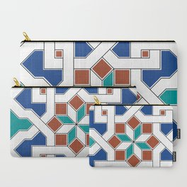 Geometric Pattern - Oriental Design Pt. 7 Carry-All Pouch