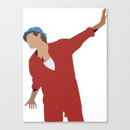harry styles dancing in eroda Canvas Print