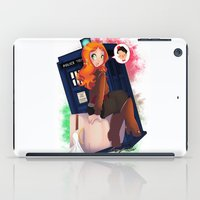 amy pond iPad Cases featuring Doctor Who - Amy Pond by Lucy Fidelis