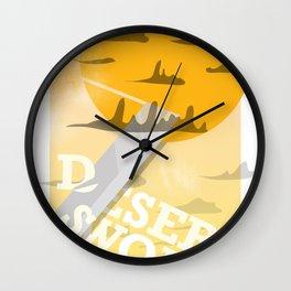 Desert Swordsman Wall Clock