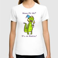 wizard T-shirts featuring Wizard Lizard by Artistic Dyslexia