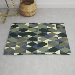 Abstract Geometric Artwork 46 Rug