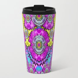 fantasy bloom in Spring time lively colors Travel Mug