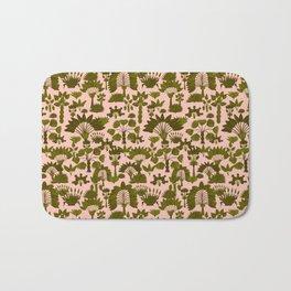 Exotic Garden - Olive Bath Mat
