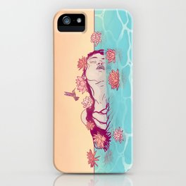 Naiad Lady iPhone Case