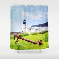 maine Shower Curtains featuring Beautiful Maine by ThePhotoGuyDarren