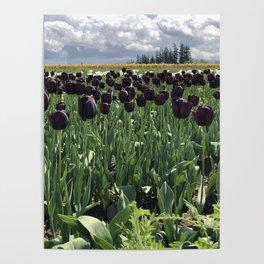 Goth Gardening Poster