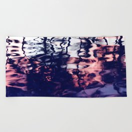 Reflection of the Sunset Beach Towel
