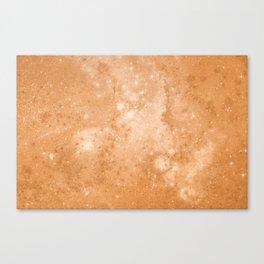 Vintage Space Paper Canvas Print