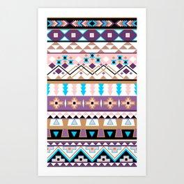 Aztec jazz 2013 Art Print