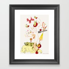 Tools for Playing Framed Art Print