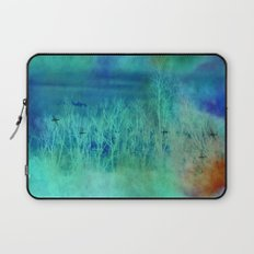 Blue Landscape Laptop Sleeve