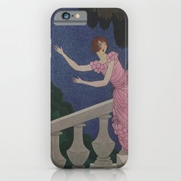 Vintage Magazine Cover - The Ball iPhone Case