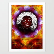 Breathe Kaleidoscope  Art Print