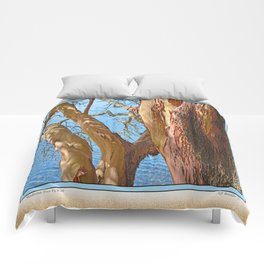 MADRONA TREE BY THE SEA Comforters