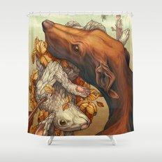 Lepus Shower Curtain