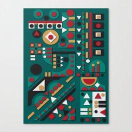 V16 Canvas Print