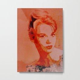Divas - Jane Fonda Metal Print