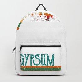 Gypsum Colorado Retro Vintage Custom Funny Backpack
