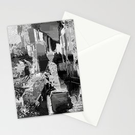 metal canal Stationery Cards
