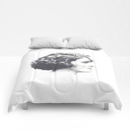 A portrait of Zelda Fitzgerald Comforters